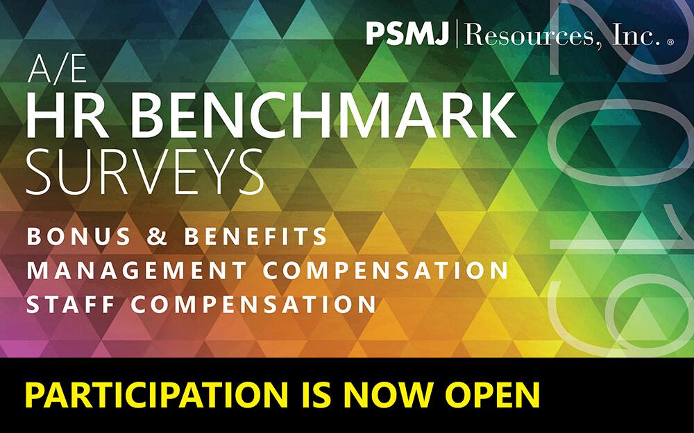 PSMJ 2019 A/E Compensation Surveys