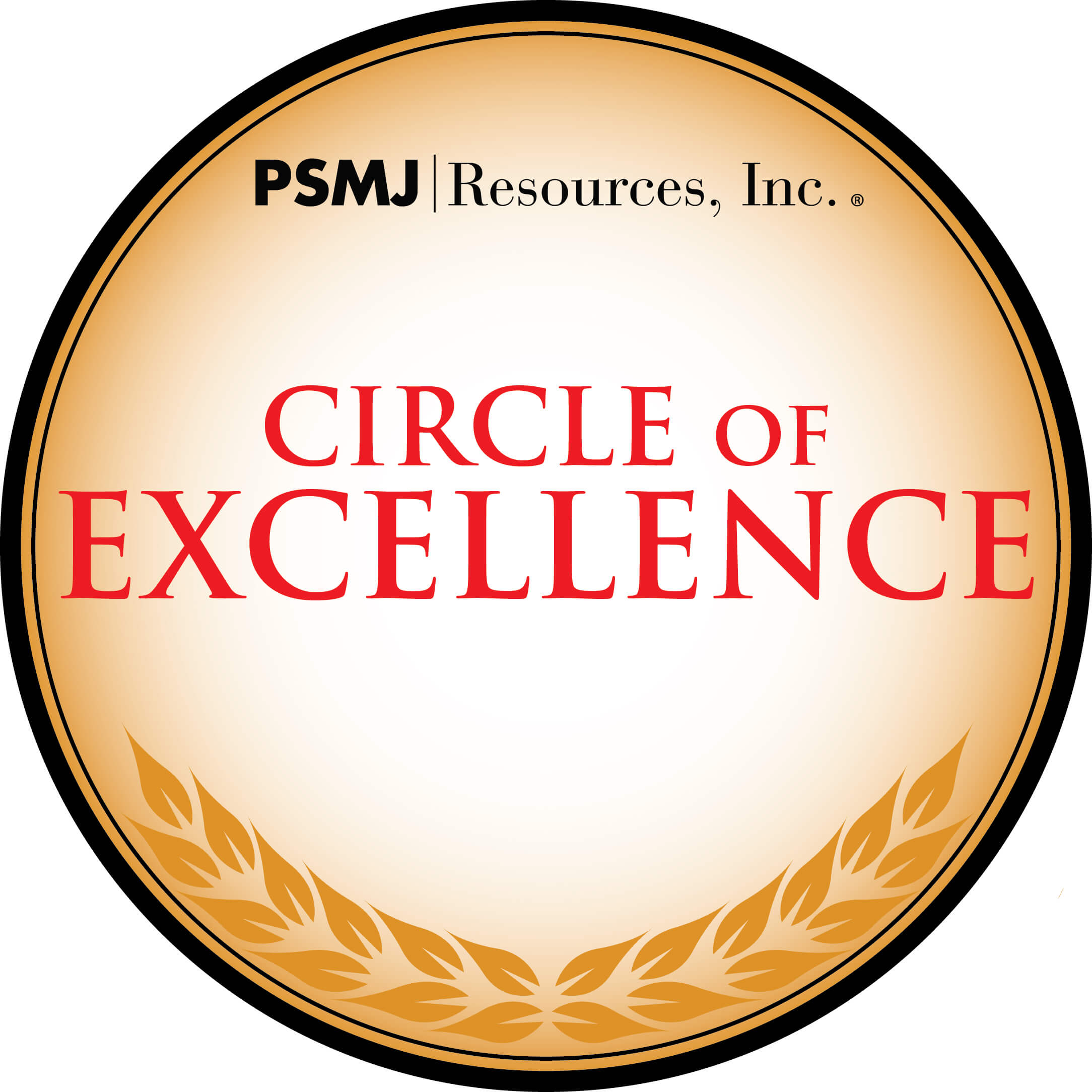 PSMJ's Circle of Excellence Award