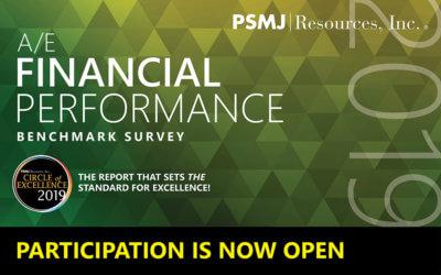 PSMJ 2019 A/E Financial Performance Survey