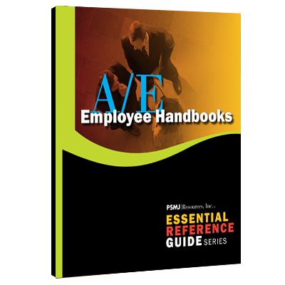 A/E HR Employee Handbooks