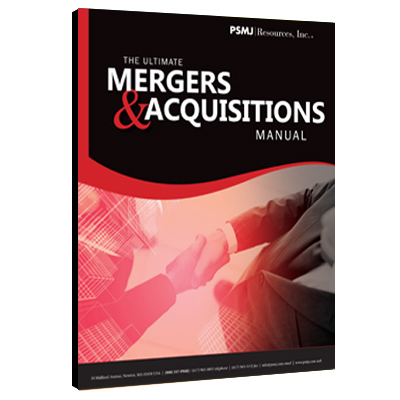 The Ultimate Mergers & Acquisitions Manual