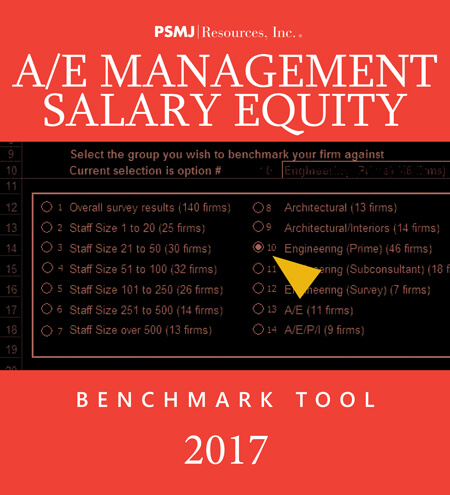 2017 Management Salary Equity Benchmarking Tool