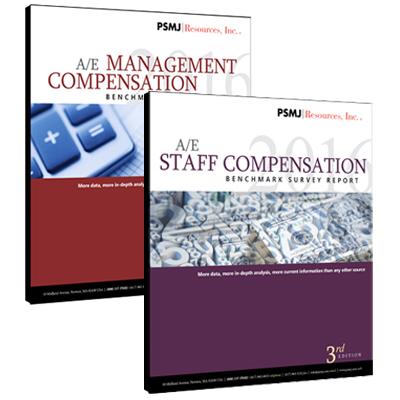 A/E Staff & Management Compensation Benchmark Survey Reports Bundle