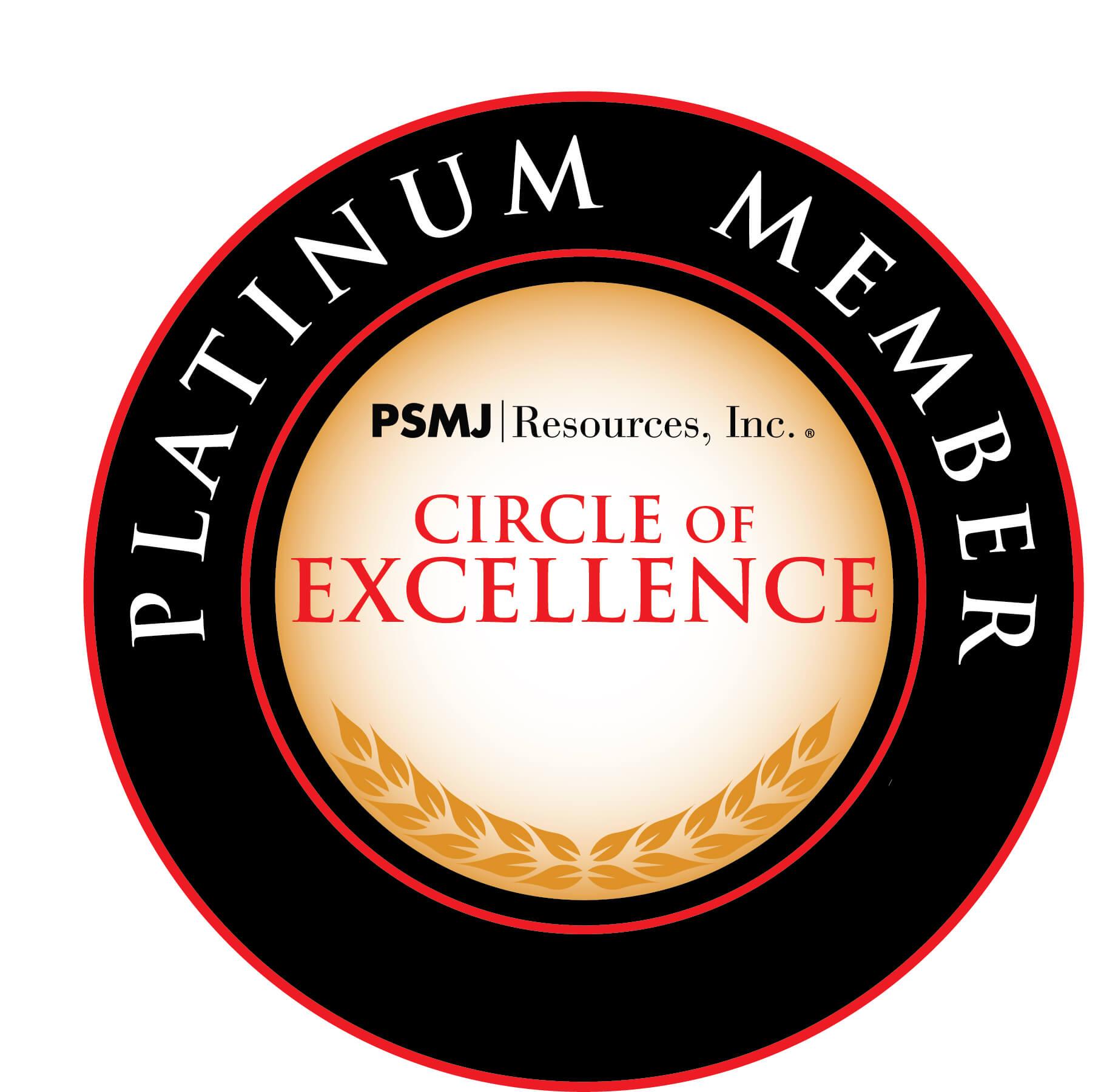 PSMJ's Platinum Award