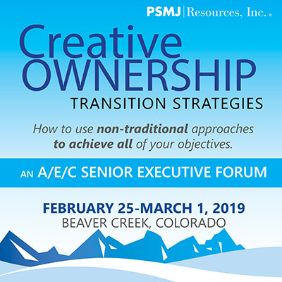 Creative Ownership Transition Strategies: An A/E/C Senior Executive Forum