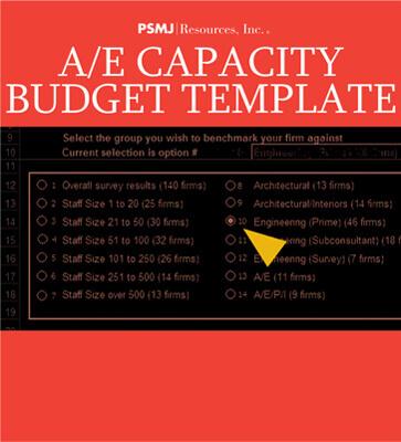 A/E Capacity Budget Template