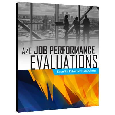 A/E Job Performance Evaluations