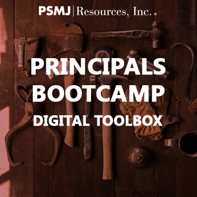 Principals Bootcamp Digital Toolbox