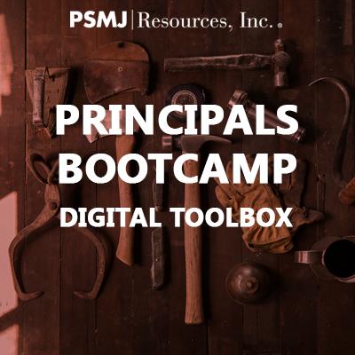Principals Bootcamp Digital Toolbox
